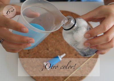 6º Añadimos otro color ¡Azul!