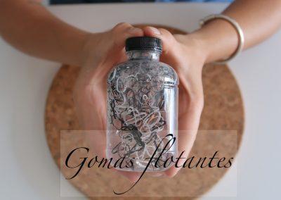 Botella Sensorial Gomas flotantes