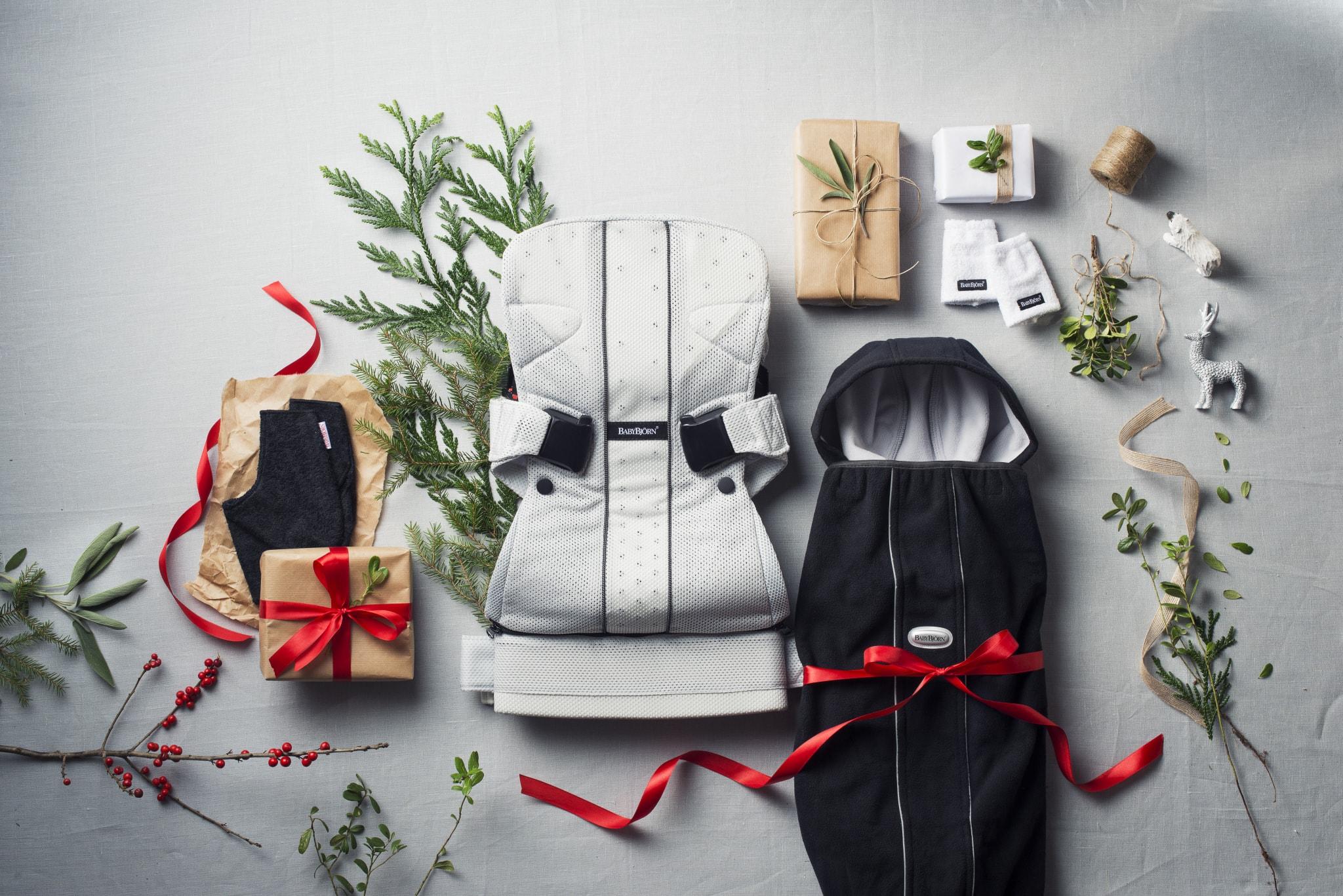 Mochila Porta bebés y funda polar BabyBjörn Regalo Navidad