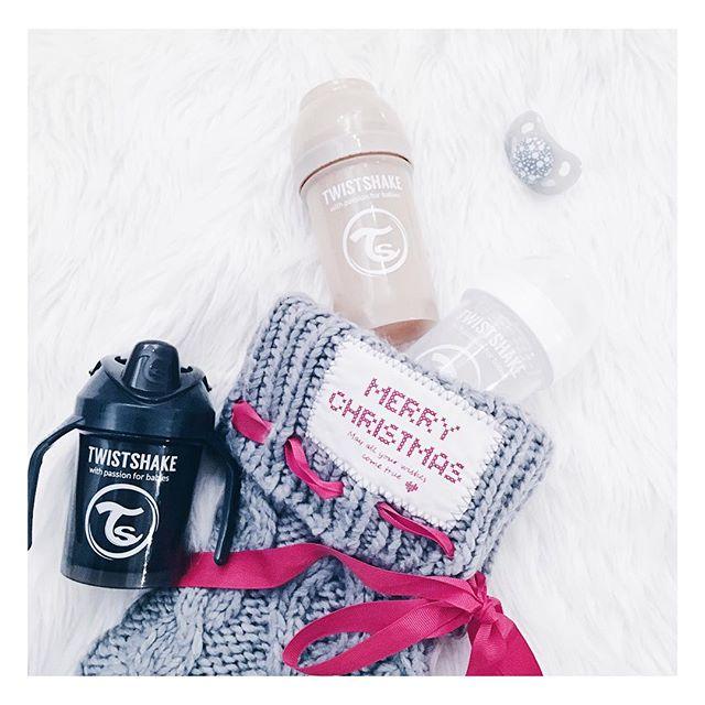 Biberones y Mini Cup Colección Pastel Twistshake Navidad