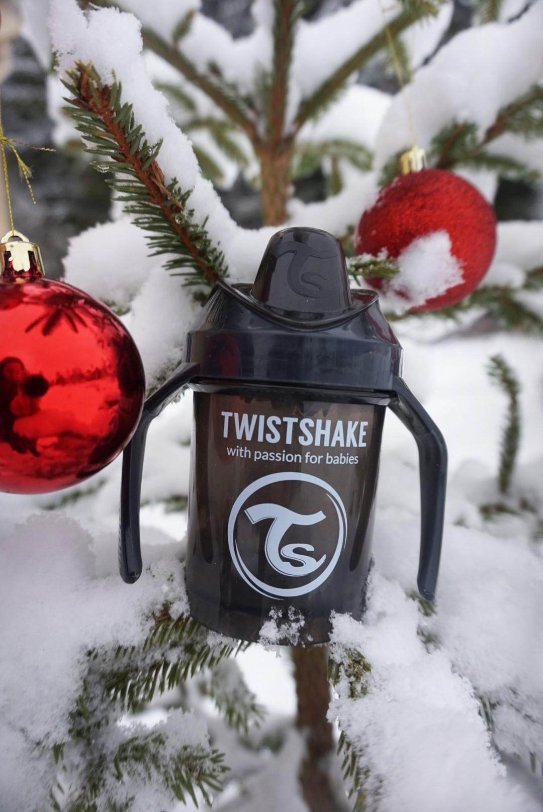 Mini Cup Negro Colección Pastel Twistshake Navidad